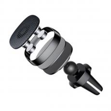 Автомобильный держатель Baseus Privity Series Pro Air outlet Magnet Bracket, черный, фото 2