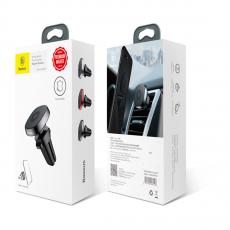 Автомобильный держатель Baseus Privity Series Pro Air outlet Magnet Bracket, черный, фото 3