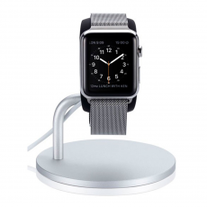Док-станция Just Mobile Lounge Dock для Apple Watch, серебристый, фото 1