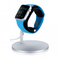 Док-станция Just Mobile Lounge Dock для Apple Watch, серебристый, фото 2