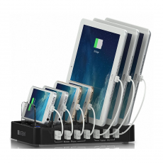 Док-станция Satechi 7-Port USB Charging Station Dock, 7 USB-A, чёрный, фото 2