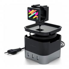 Док-станция Satechi Smart Charging Stand, для Apple Watch, серый, фото 2