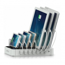 Док-станция Satechi 7-Port USB Charging Station Dock, 7 USB-A, белый, фото 3