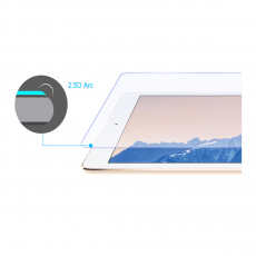 Защитное стекло Baseus Anti-blue Tempered Glass 0.3 mm для iPad Pro 12.9, прозрачное, фото 1