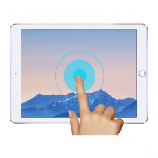 Защитное стекло Baseus Anti-blue Tempered Glass 0.3 mm для iPad Pro 12.9, прозрачное, фото 3