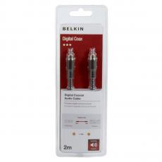 Кабель Belkin Digital Coax Audio Cable, 2 метра, чёрный, фото 2