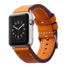 Кожаный ремешок Cozistyle Leather Band для Apple Watch, светло-коричневый-фото