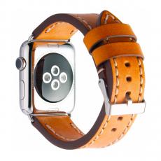 Кожаный ремешок Cozistyle Leather Band для Apple Watch, светло-коричневый, фото 2