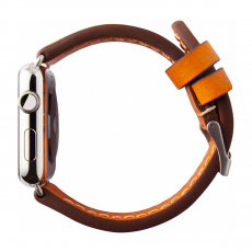 Кожаный ремешок Cozistyle Leather Band для Apple Watch, светло-коричневый, фото 1