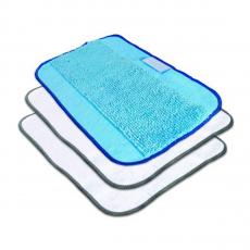 Набор салфеток iRobot Microfiber Cleaning Cloth, белые/голубые-фото