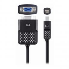 Переходник Belkin Mini DisplayPort to VGA Adapter, черный-фото