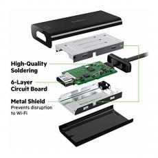 Переходник Belkin, с USB-C на HDMI, чёрный, фото 3