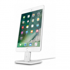 Подставка Twelve South HiRise V2 для iPhone и iPad. Материал сталь. Цвет серебряный., фото 1