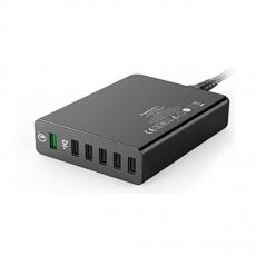 Сетевое зарядное устройство Anker PowerPort+ 6, черное, фото 2