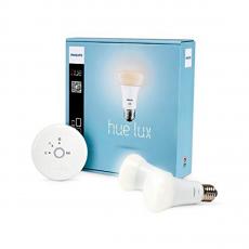 Управляемые лампы Philips Hue Lux Starter Kit, белые-фото