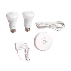 Управляемые лампы Philips Hue Lux Starter Kit, белые, фото 1