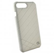Чехол кожаный Mercedes Pattern ll для iPhone 7 Plus/8 Plus, серый, фото 1