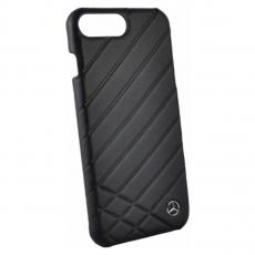 Чехол кожаный Mercedes Pattern ll для iPhone 7 Plus/8 Plus, чёрный, фото 1