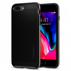 Чехол Spigen Neo Hybrid  для iPhone 8 и 7 Plus, стальной, фото 1