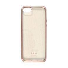 Чехол Uniq Glacier Frost для iPhone 5S/SE, розовое золото-фото