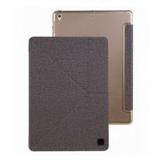 Чехол Uniq Yorker Kanvas для iPad 9.7, серый-фото
