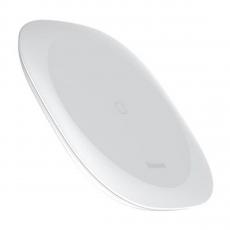 Беспроводное зарядное устройство Baseus Square-circle Wireless Charger, белое, фото 2