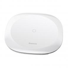 Беспроводное зарядное устройство Baseus Square-circle Wireless Charger, белое, фото 1