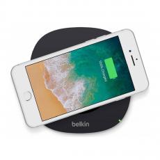 Беспроводное зарядное устройство Belkin Qi, 1А, черное, фото 2