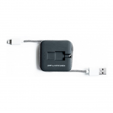 Внешний аккумулятор с кабелем Native Union Jump Cable, зебра, фото 2