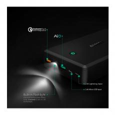 Внешний аккумулятор Aukey 30000 мАч, черный, фото 2