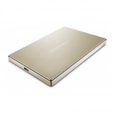 Внешний диск LaCie Porsche Design 2 Тб, золото, фото 2