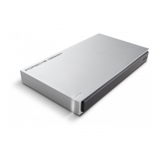 Внешний диск LaCie Porsche Design 2 Тб, USB 3.0, серебро, фото 1