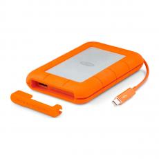 Внешний диск LaCie Rugged 2TB Thunderbolt/USB 3.0, оранжевый, фото 3