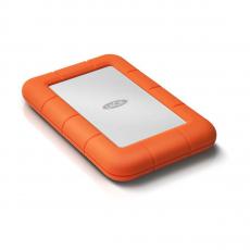 Внешний диск LaCie Rugged Mini 2TB USB 3.0, оранжевый, фото 1