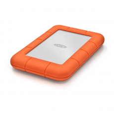 Внешний диск LaCie Rugged Mini 2TB USB 3.0, оранжевый, фото 2