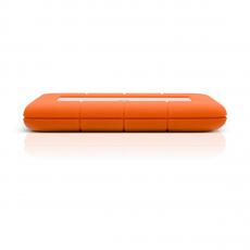 Внешний диск LaCie Rugged Mini 2TB USB 3.0, оранжевый, фото 3