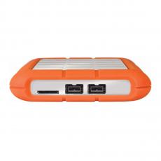 Внешний диск Lacie Rugged Triple 1TB FireWire 800/USB 3.0, оранжевый, фото 3