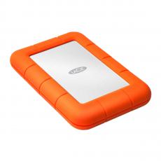 Внешний жесткий диск LaCie Rugged Mini, оранжевый, фото 1