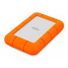 Внешний жесткий диск LaCie Rugged Mini, оранжевый, фото 2