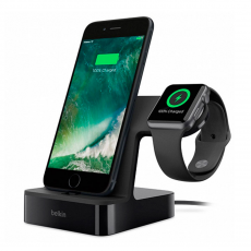 Док-станция Belkin PowerHouse Charge Dock для Apple Watch и iPhone, чёрный, фото 1