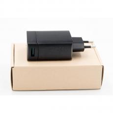 Зарядное устройство Aukey USB-C + переходник на USB-A, 29 Вт, черное, фото 2