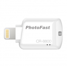 Адаптер PhotoFast CR-8800, с Lightning на SD-карту, белый, фото 1