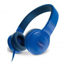 Накладные наушники JBL E35, синие-фото