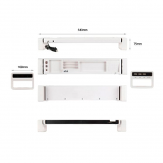 Органайзер для рабочего стола Satechi iDesk, белый, фото 2