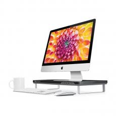 Подставка Satechi F3 Smart Monitor Stand c USB портами, черная-фото