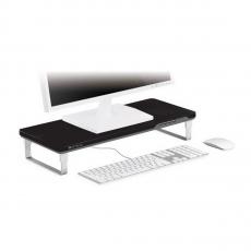 Подставка Satechi F3 Smart Monitor Stand c USB портами, черная, фото 1