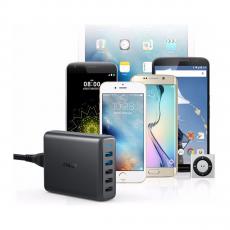 Сетевое зарядное устройство Anker PowerPort, 5 USB-A, 63W, чёрный, фото 2