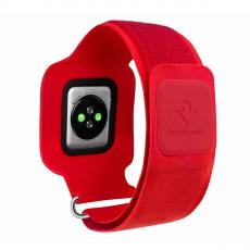 Спортивный чехол Twelve South Action Sleeve S для Apple Watch 42mm, красный-фото