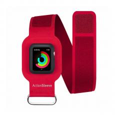 Спортивный чехол Twelve South Action Sleeve S для Apple Watch 42mm, красный, фото 1