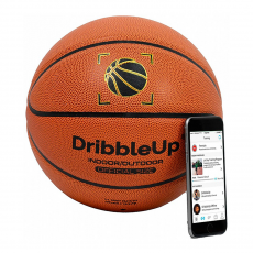 "Умный мяч DribbleUp Smart Training Basketball для iOS and Android App (размер 29.5""), фото 1"